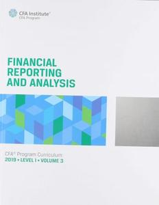 CFA Program Curriculum 2020 Level III